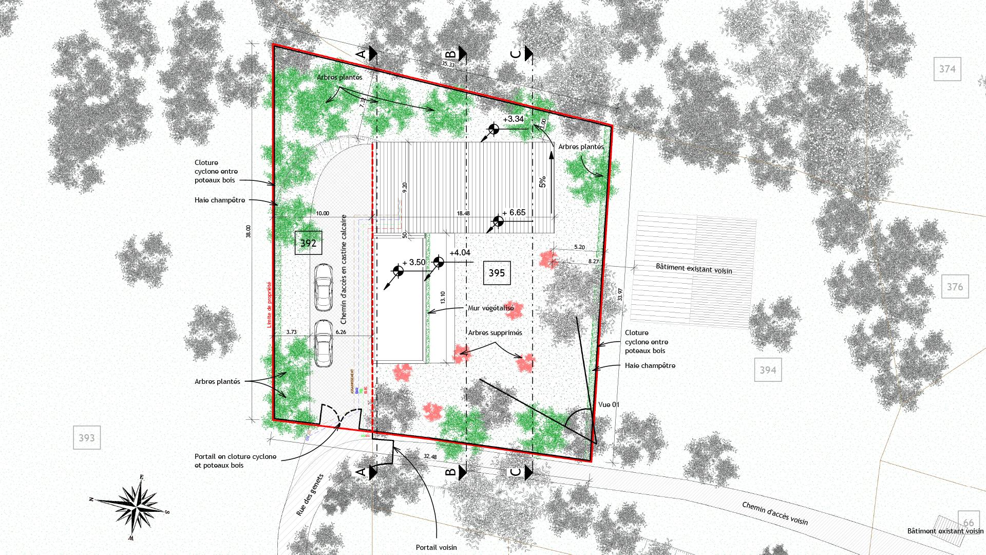2018-07_Belpech_Maison_Plan-masse_Jeremy-Garcia